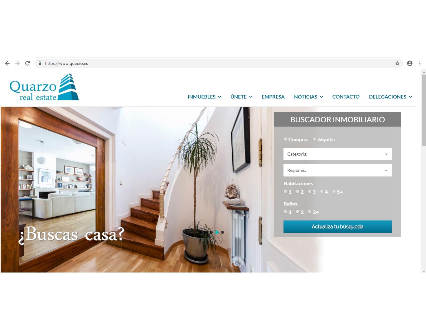 Nueva Web Quarzo Real Estate
